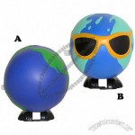 Global / Earth Walking Winder Stress Ball