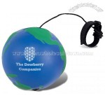 Globe Bounce Stress Reliever Ball