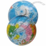 Globe Stress Ball - Full Color Printing Earth