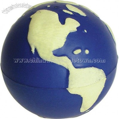 Glow Earth Stress Reliever Ball