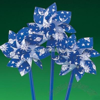 Glow-In-The-Dark Celestial Pinwheels