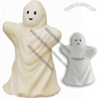 Glow-In-The-Dark Ghost Stress Ball