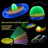 Glow and Throw UFO Flying Disc is a Glow-in-the-dark Frisbee