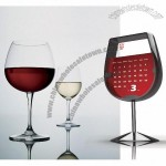 Goblet Shaped Desk Calendar