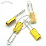 Gold Bars Paper Clip