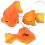 Gold Fish Stress Ball Squeezie Toy
