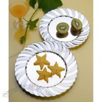 Gold Plastic Plate