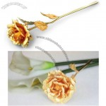Gold Rose 24K Gold Foil Perfect Gift for Valentine
