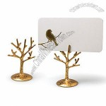 Gold Tree Branch Place Card Holders