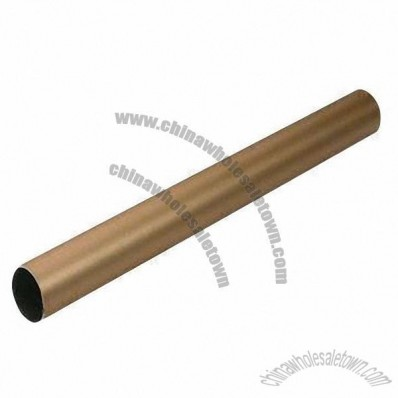 Golden Anodized Matte Aluminum Tube