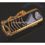 Golden Cell Phone