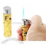 Golden Chinese Legend God Sculpture Teasure Refillable Cigarette Lighter