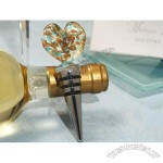 Golden Heart Wine Stopper