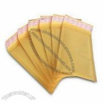 Golden Kraft Bubble Envelopes with High-slip Lining for Easy Product Insertion