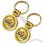 Golden Metal Key Chain