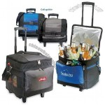 Golden Pacific Iceman Rolling Cooler