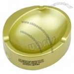 Golden Stainless Steel Ashtray