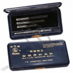 Golden and Silver Acupuncture Needles Set, Valuable for Collection