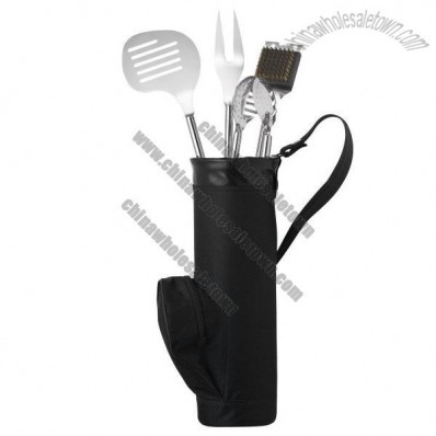 Golf Bag BBQ-Set Grill
