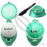 Golf Ball Markers Line Drawing Tool with Pen