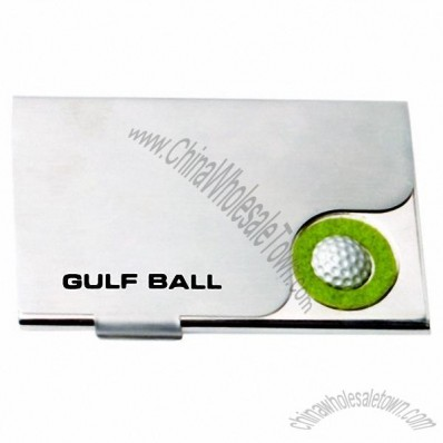Golf Ball Visiting Card - Business Name Card Holder