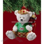 Golf Bear Ornament