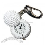 Golf Keychain Clock