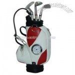 Golf Pen Holder With Watch