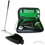 Golf Practice Putter Set With Automatic Ball Return
