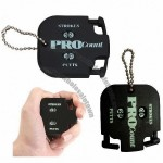 Golf Stroke Shot Putt Score Counter with Key Chain Accessory