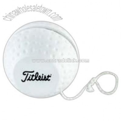 Golf ball shaped yo-yo