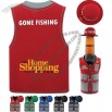 Gone Fishing Bottle Cooler