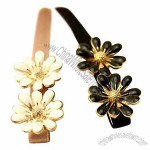 Good-looking Fashion Acrylic Flower Hair Clips