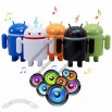 Google Android Robot Speaker with Mp3 Player Function and TF Card Slot