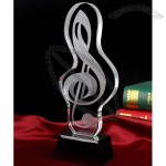 Gorgeous Crystal Trophy Award for Music Souvenir