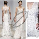 Gorgeous Lace Wedding Dresses, Zipper or Lace Back