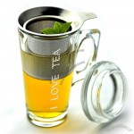 Gourmet Glass Mug & Tea Maker Infuser Set