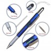 Gradienter Ruler Ball Pen with Screwdriver and Stylus