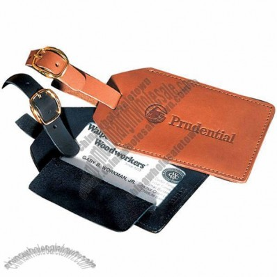 Grand Central Luggage Tag - Calfskin