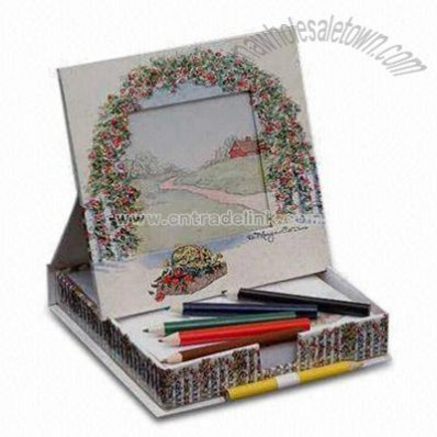 Gray Board and Glossy Art Paper Photo Album