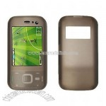 Gray Silicon Skin Case Cover for Nokia N85
