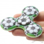 Green Field Soccer Fidget Spinner