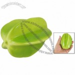Green Foam Manmade Fruit Simulation Starfruit Desk Table Decoration