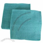 Green Gauze Sponges, Made of Pure Cotton