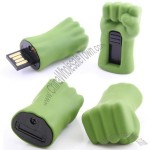 Green Hulk Hand USB Flash Drive