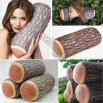 Green Log Pillow