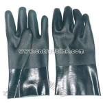 Green PVC Labor Gloves