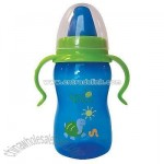 Green Sprouts 8 oz Trainer Bottle-Blue