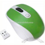 Green Wireless Mouse