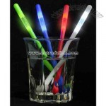 Green light up stir stick